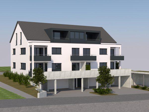 Wohngebäude Oberhochstegstraße