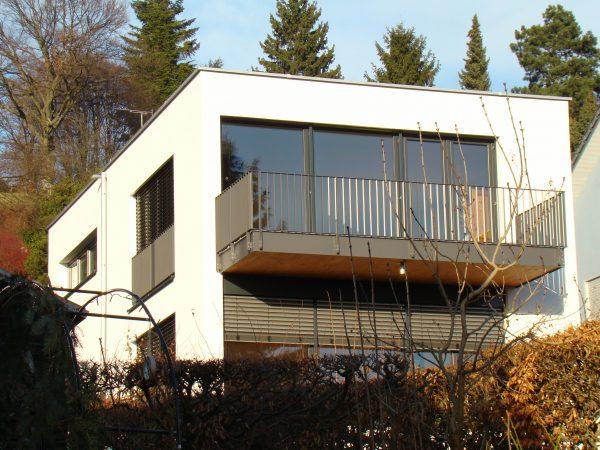 Neubau eines Einfamilienhauses in Lindau - Wannental