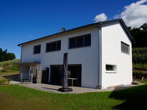 Neubau eines Einfamilienhauses in Wasserburg - Hege