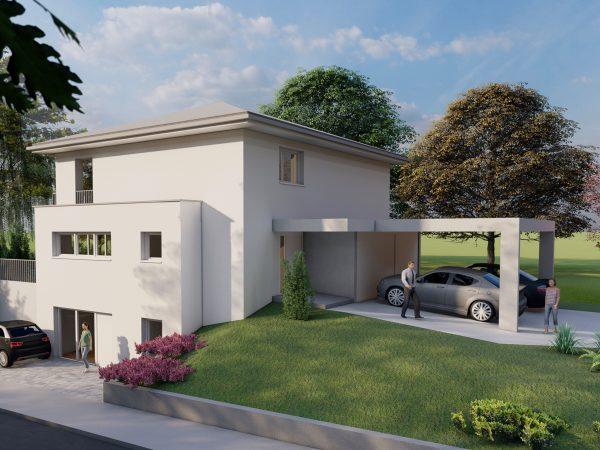 Neubau eines Einfamilienhauses in Lindau