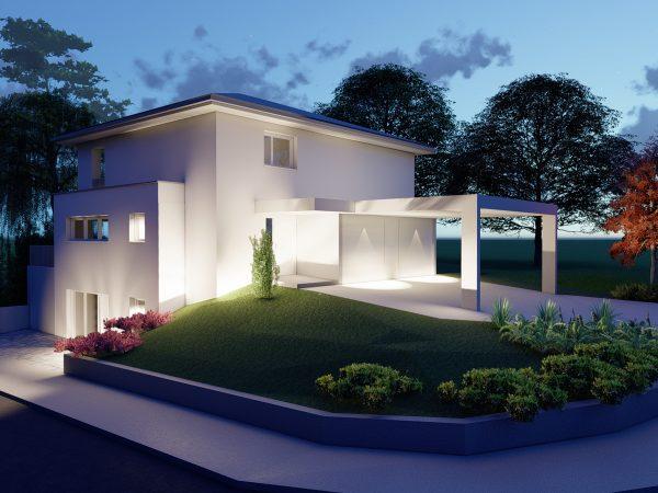 Einfamilienhaus mit Carports in Lindau