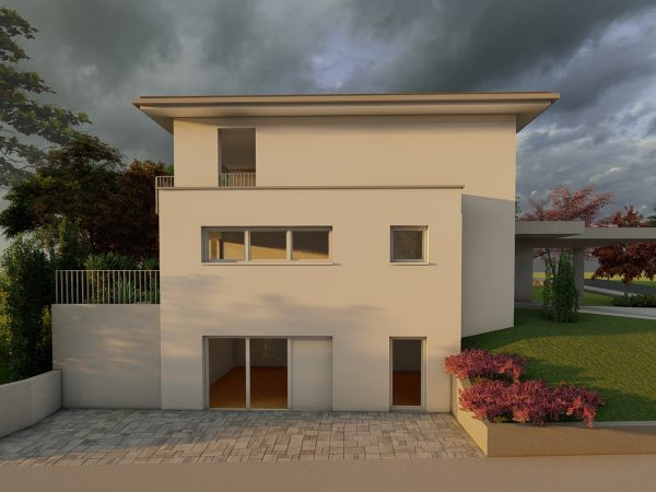 Einfamilienhaus mit Carport in Lindau