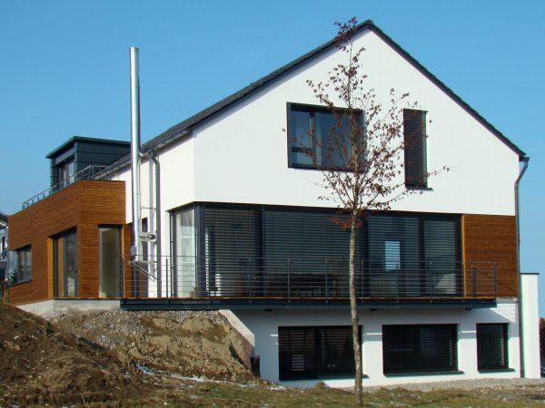 Neubau eines Einfamilienhauses mit Büro in Lindau - Schneehalde