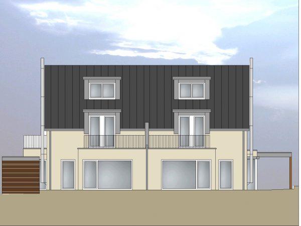 Neubau eines Doppelhauses in Lindau-Reutin