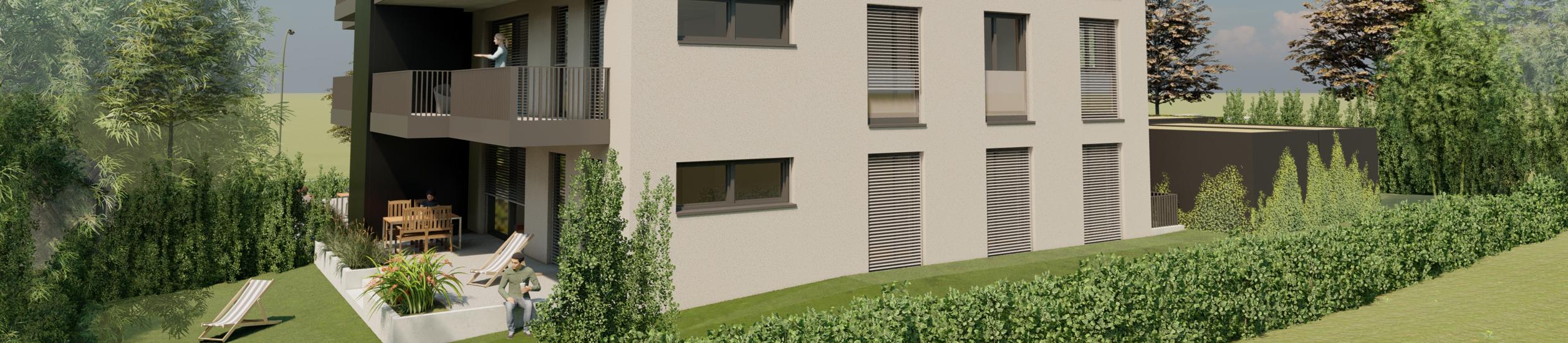 Neubau eines Mehrfamilienhauses in Lindau-Aeschach am Bühlweg