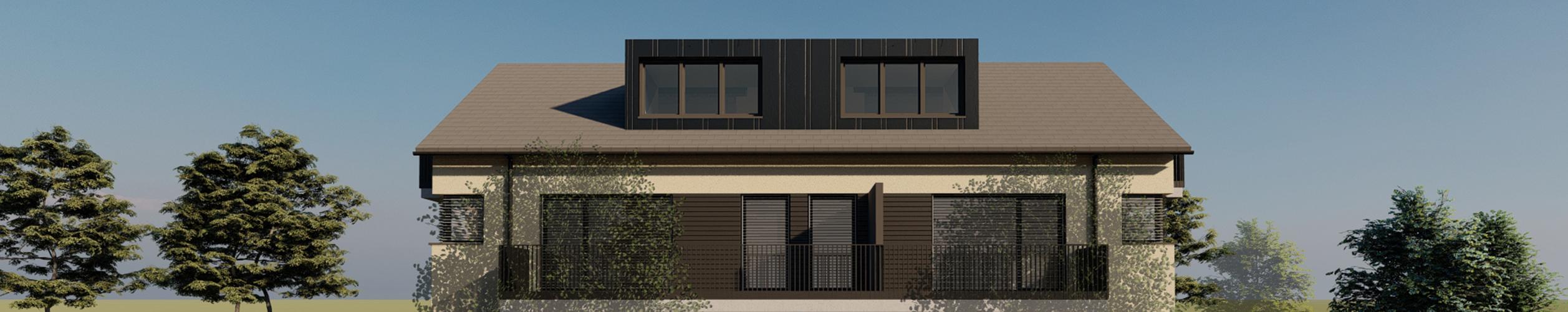 Neubau eines Mehrfamilienhauses in Langenargen-Mörikestraße