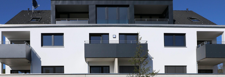 Neubau eines Mehrfamilienhauses in Lindau - Oberhochstegstraße