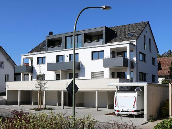 Mehrfamilienhaus Oberhochstegstraße