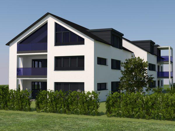 Neubau Wohngebäude Mittelseemoos in Wasserburg