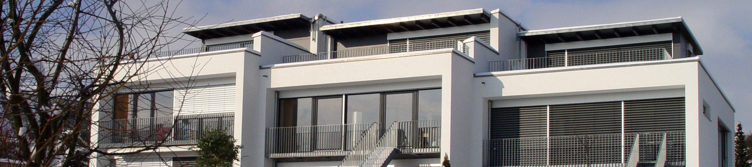 Neubau von drei Reihenhäusern in Lindau - Rainhausgasse