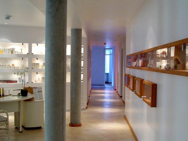 Hotel Helvetia 2003-2006: Umbau Beauty- und Wellness-Lounge, Umbau Tagungsraum in Wellness-Suiten, Anbau