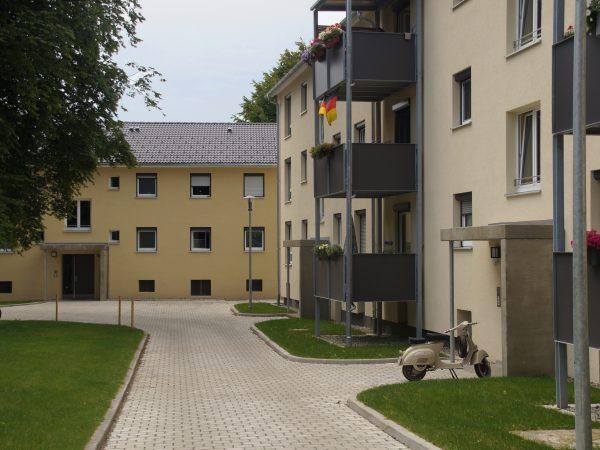 Modernisierung von 4 Wohngebäuden in Bodolz - Dr.-Emil-Hasel-Siedlung