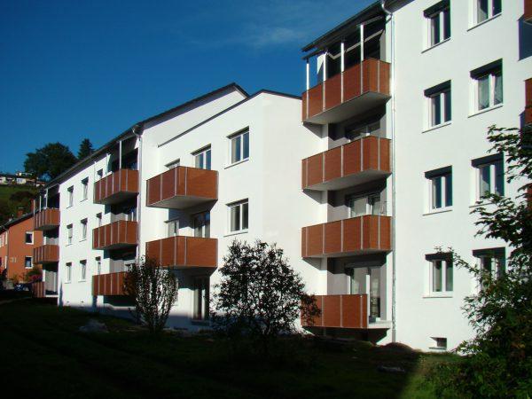 Modernisierung von zwei Wohngebäuden und Neubau eines Wohngebäudes in Lindau - Nobelstraße