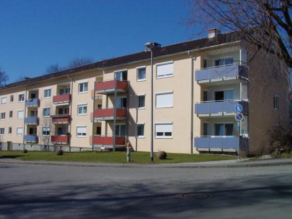 Modernisierung und Umbau einer Wohnsiedlung in Lindau - Wiedemannstraße – Lugeckstraße