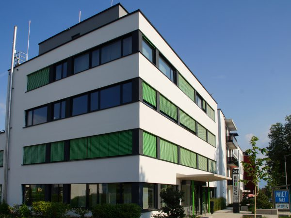 Neubau eines Wohn- und Geschäftshauses mit Tiefgarage in Lindau - Schulstraße