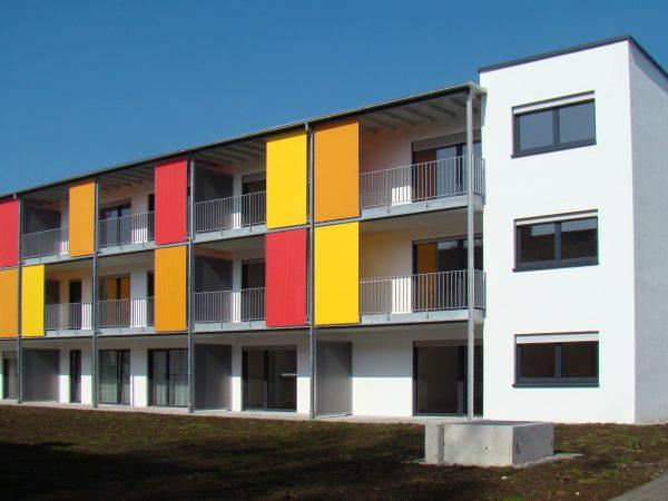 Neubau von zwei Wohngebäuden mit Tiefgarage in Lindau - Adalbert-Stifter-Straße