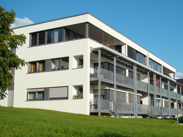 Neubau eines Mehrfamilienhauses und Neubau von zwei Doppelhäusern mit Tiefgarage in Lindau - Holbeinstraße